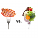 Meat versus Vegetables