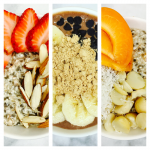 Three Chia Puddings