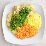 Roasted Cauliflower Steaks with Lentils