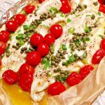 Roasted Cod with Capers