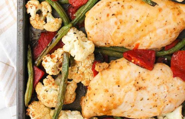 Cajun Sheet Pan Chicken