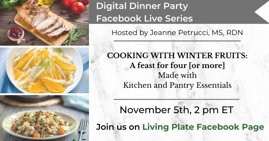 Digital Dinner Party Facebook LIVE: 11.5.20